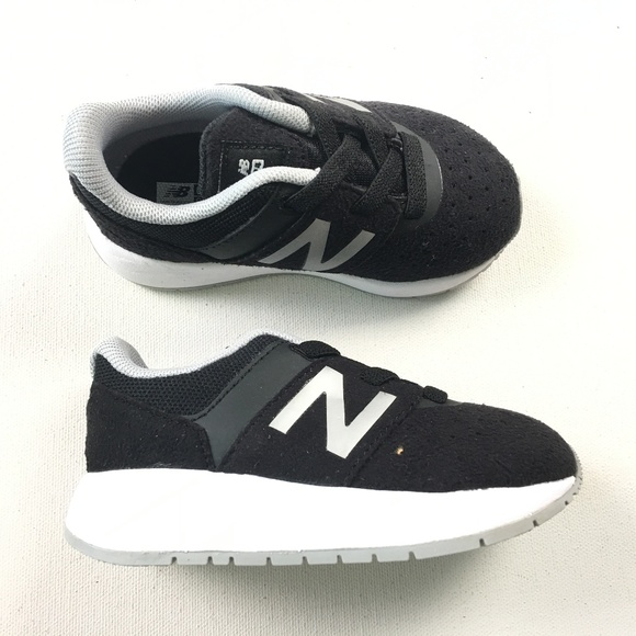 1b06a8d24295 New Balance Toddler Baby Kids KA24BSI Black White